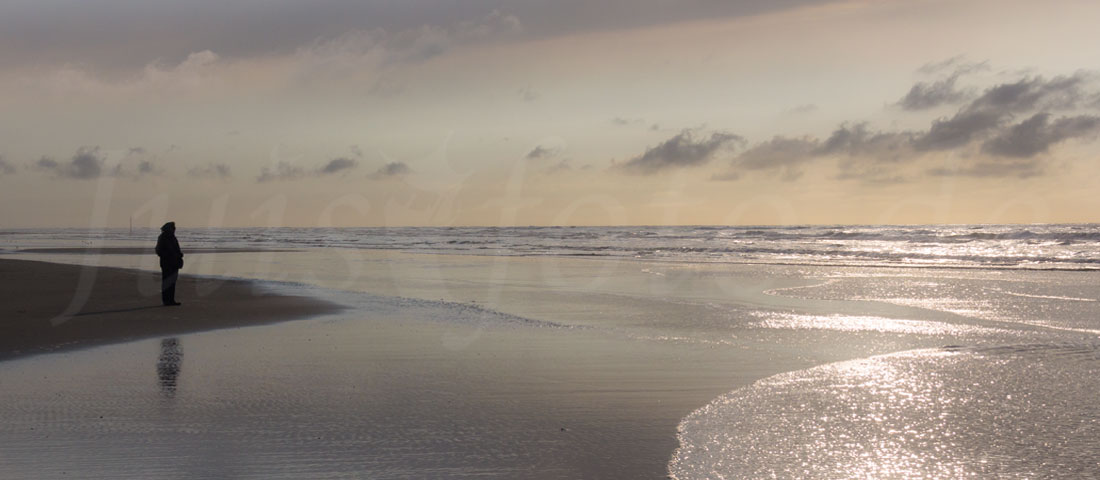Juist-Strand-Sonnenuntergang
